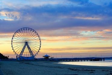 grande roue coucher soleil